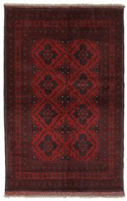 Afghan Khal Mohammadi Matto 130X195 Itämainen Käsinsolmittu Musta (Villa, Afganistan)