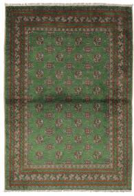Afghan Matto 105X150 Itämainen Käsinsolmittu Musta/Tummanvihreä (Villa, Afganistan)