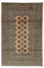 Afghan Matto 117X176 Itämainen Käsinsolmittu Tummanruskea/Musta (Villa, Afganistan)