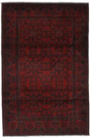 Afghan Khal Mohammadi Matto 125X196 Itämainen Käsinsolmittu Musta (Villa, Afganistan)