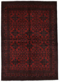 Afghan Khal Mohammadi Matto 177X242 Itämainen Käsinsolmittu Musta (Villa, Afganistan)
