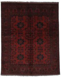 Afghan Khal Mohammadi Matto 152X189 Itämainen Käsinsolmittu Musta (Villa, Afganistan)