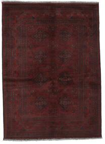 Afghan Khal Mohammadi Matto 131X178 Itämainen Käsinsolmittu Musta (Villa, Afganistan)