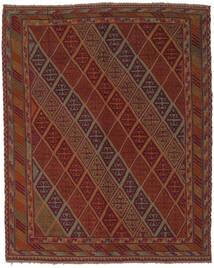Kelim Golbarjasta Matto 147X185 Itämainen Käsinkudottu Musta/Tummanruskea (Villa, Afganistan)