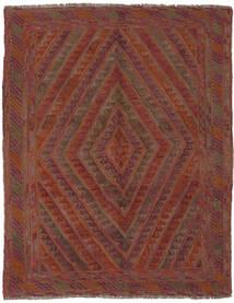 Kelim Golbarjasta Matto 142X185 Itämainen Käsinkudottu Tummanruskea/Musta (Villa, Afganistan)
