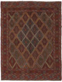 Kelim Golbarjasta Matto 137X177 Itämainen Käsinkudottu Musta/Tummanruskea (Villa, Afganistan)