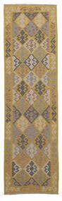 Kelim Afghan Old Style Matto 82X307 Itämainen Käsinkudottu Käytävämatto Ruskea/Tummanruskea (Villa, Afganistan)