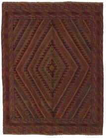 Kelim Golbarjasta Matto 153X188 Itämainen Käsinkudottu Musta (Villa, Afganistan)
