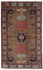 Hamadan Matto 121X191 Itämainen Käsinsolmittu Tummanruskea/Musta (Villa, Persia/Iran)