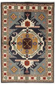 Ardebil Matto 140X213 Itämainen Käsinsolmittu Musta/Tummanruskea (Villa, Persia/Iran)
