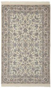 Nain 9La Matto 156X255 Itämainen Käsinsolmittu Tummanharmaa/Vaaleanruskea (Villa/Silkki, Persia/Iran)