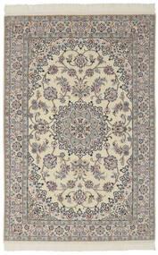 Nain 9La Matto 136X204 Itämainen Käsinsolmittu Tummanharmaa/Tummanruskea (Villa/Silkki, Persia/Iran)