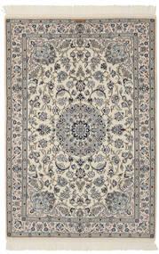 Nain 9La Matto 110X163 Itämainen Käsinsolmittu Tummanharmaa/Musta (Villa/Silkki, Persia/Iran)
