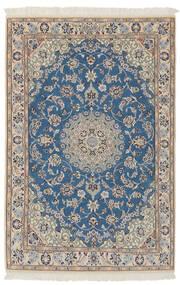 Nain 9La Matto 100X150 Itämainen Käsinsolmittu Tummansininen/Tummanruskea (Villa/Silkki, Persia/Iran)