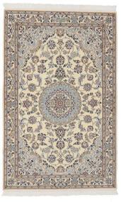 Nain 9La Matto 102X160 Itämainen Käsinsolmittu Tummanharmaa/Tummanruskea (Villa/Silkki, Persia/Iran)