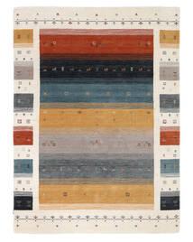 Loribaf Loom Designer - Multi Matto 160X230 Moderni Musta/Valkoinen/Creme (Villa, Intia)