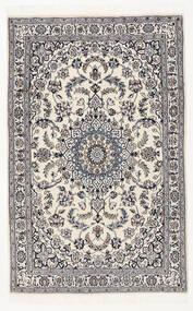 Nain 9La Matto 116X183 Itämainen Käsinsolmittu Musta/Vaaleanharmaa (Villa/Silkki, Persia/Iran)