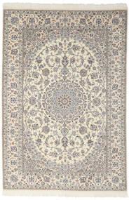 Nain 9La Matto 200X301 Itämainen Käsinsolmittu Tummanharmaa/Vaaleanharmaa (Villa/Silkki, Persia/Iran)