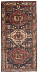 Ardebil Matto 150X290 Itämainen Käsinsolmittu Käytävämatto Tummanruskea/Musta (Villa, Persia/Iran)