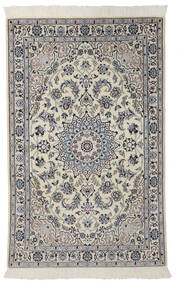 Nain 9La Matto 100X160 Itämainen Käsinsolmittu Tummanharmaa/Musta (Villa/Silkki, Persia/Iran)