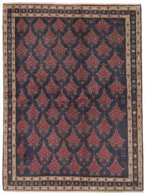 Afshar Matto 172X230 Itämainen Käsinsolmittu Musta/Tummanruskea (Villa, Persia/Iran)