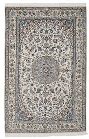 Nain 9La Matto 165X250 Itämainen Käsinsolmittu Tummanharmaa/Vaaleanharmaa/Musta (Villa/Silkki, Persia/Iran)