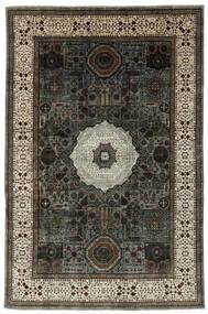Mamlouk Matto 185X277 Moderni Käsinsolmittu Musta/Tummanruskea (Villa, Afganistan)
