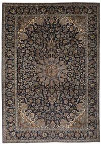 Najafabad Matto 263X387 Itämainen Käsinsolmittu Musta/Tummanruskea Isot (Villa, Persia/Iran)