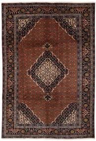 Ardebil Matto 201X290 Itämainen Käsinsolmittu Musta/Tummanruskea (Villa, Persia/Iran)