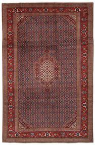 Ardebil Matto 193X305 Itämainen Käsinsolmittu Musta/Tummanruskea (Villa, Persia/Iran)