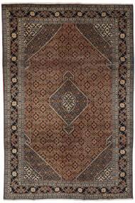 Ardebil Matto 193X294 Itämainen Käsinsolmittu Musta/Tummanruskea (Villa, Persia/Iran)
