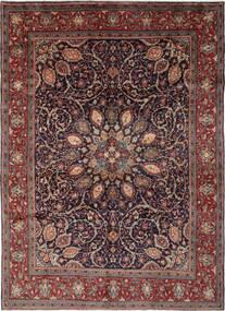 Mahal Matto 270X364 Itämainen Käsinsolmittu Musta/Tummanruskea Isot (Villa, Persia/Iran)
