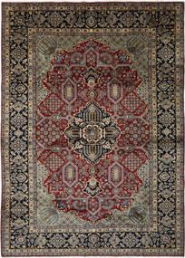 Najafabad Matto 293X408 Itämainen Käsinsolmittu Musta/Tummanruskea Isot (Villa, Persia/Iran)