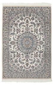 Nain 9La Matto 116X176 Itämainen Käsinsolmittu Vaaleanharmaa/Tummanharmaa (Villa/Silkki, Persia/Iran)