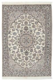 Nain 9La Matto 117X173 Itämainen Käsinsolmittu Tummanharmaa/Vaaleanharmaa (Villa/Silkki, Persia/Iran)