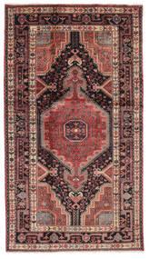 Hamadan Matto 107X188 Itämainen Käsinsolmittu Musta/Tummanruskea (Villa, Persia/Iran)