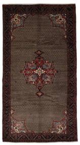 Koliai Matto 163X300 Itämainen Käsinsolmittu Käytävämatto Musta/Tummanruskea (Villa, Persia/Iran)