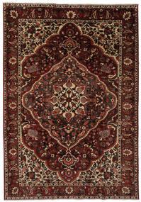 Bakhtiar Matto 205X304 Itämainen Käsinsolmittu Musta/Tummanruskea (Villa, Persia/Iran)
