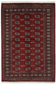 Pakistan Bokhara 2Ply Matto 141X206 Itämainen Käsinsolmittu Musta (Villa, Pakistan)