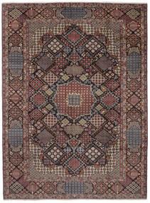 Najafabad Matto 302X405 Itämainen Käsinsolmittu Tummanruskea/Musta Isot (Villa, Persia/Iran)
