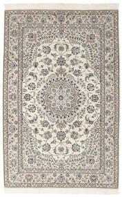 Nain 9La Matto 155X242 Itämainen Käsinsolmittu Tummanharmaa/Vaaleanharmaa (Villa/Silkki, Persia/Iran)