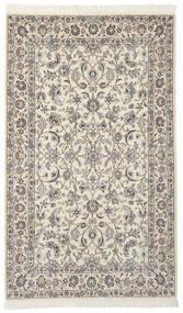 Nain 9La Matto 154X254 Itämainen Käsinsolmittu Tummanharmaa/Tummanbeige (Villa/Silkki, Persia/Iran)