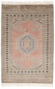 Pakistan Bokhara 2Ply Matto 77X114 Itämainen Käsinsolmittu Ruskea/Tummanruskea (Villa, Pakistan)
