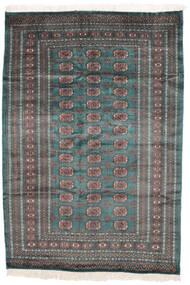 Pakistan Bokhara 2Ply Matto 159X229 Itämainen Käsinsolmittu Musta/Tummanruskea (Villa, Pakistan)