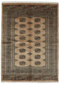 Pakistan Bokhara 3Ply Matto 142X192 Itämainen Käsinsolmittu Tummanruskea/Musta (Villa, Pakistan)