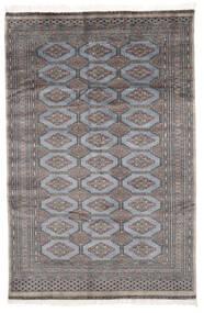 Pakistan Bokhara 2Ply Matto 152X230 Itämainen Käsinsolmittu Musta/Tummanharmaa (Villa, Pakistan)