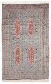 Pakistan Bokhara 2Ply Matto 155X239 Itämainen Käsinsolmittu Tummanharmaa/Tummanruskea (Villa, Pakistan)