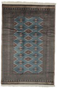 Pakistan Bokhara 3Ply Matto 156X234 Itämainen Käsinsolmittu Musta/Tummanruskea (Villa, Pakistan)
