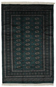 Pakistan Bokhara 3Ply Matto 160X241 Itämainen Käsinsolmittu Musta (Villa, Pakistan)