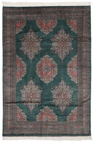 Pakistan Bokhara 2Ply Matto 151X226 Itämainen Käsinsolmittu Musta (Villa, Pakistan)